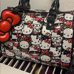 Rare Hello Kitty Loungefly Crossbody Bag